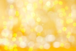 gold  light effect, holiday background