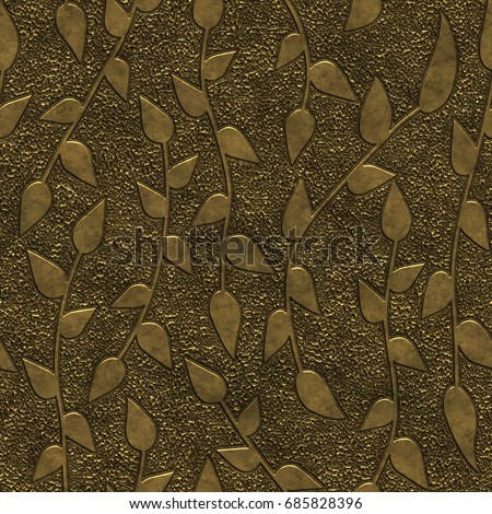 gold metal seamless texture...