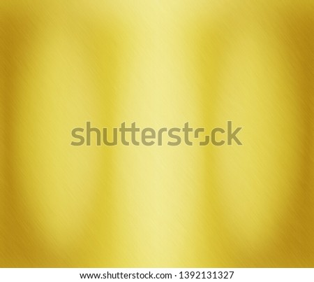 Gold metal texture or yellow aluminum surface #1392131327