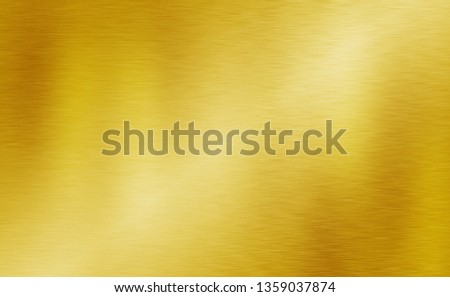 Gold metal texture or yellow stainless aluminum background