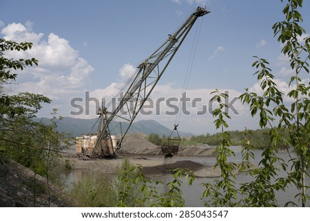 Gold mining in Kolyma.