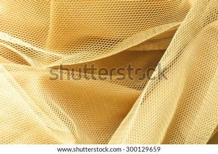 Gold net cloth texture background