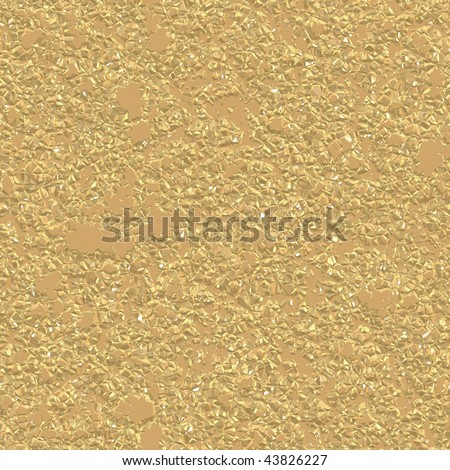 Gold Nugget Seamless Texture has realistic color and feel.