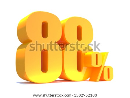 Gold 88 Percent off 3d Sign on White Background, Special Offer 88% Discount Tag, Sale Up to 88 Percent Off,big offer, Sale, Special Offer Label, Sticker, Tag, Banner, Advertising, offer Icon