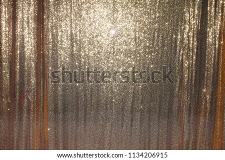 Gold Photo Booth Drapes.