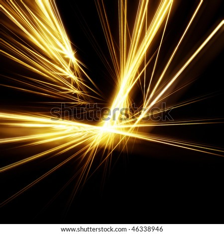 Gold Rays Stock Photo 46338946 : Shutterstock