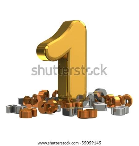 gold, silver bronze medal podium