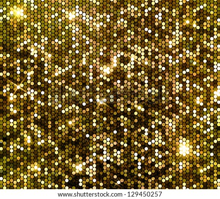 gold glitzer hintergrund glitzernde pailletten wand stock foto 129450257 shutterstock. Black Bedroom Furniture Sets. Home Design Ideas