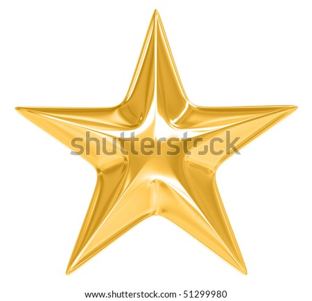 gold star images. stock photo : Gold Star on