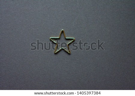 Gold stars background. Background of many stars. #1405397384