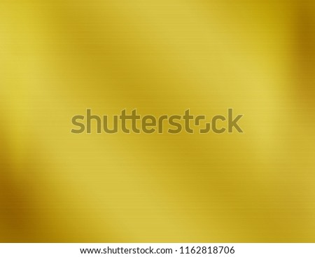 Gold steel texture or yellow metal plate background #1162818706