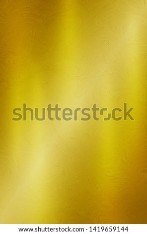 Gold texture steel or yellow metal plate background #1419659144