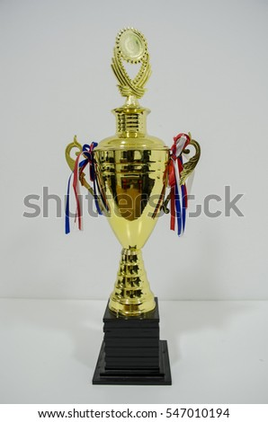 Gold Trophy Cup #547010194