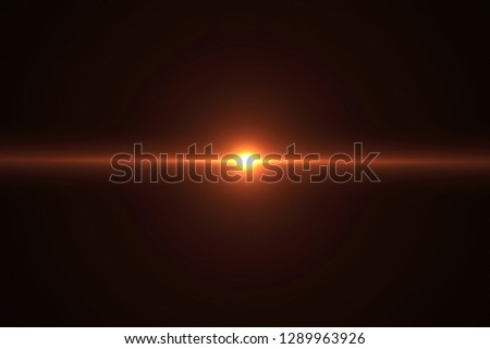 gold warm color bright lens flare flashes leak for transitions on black background,movie titles and overlaying #1289963926
