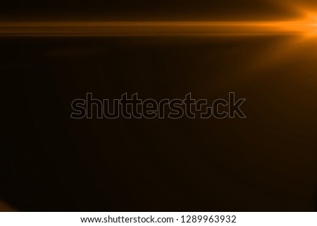 gold warm color bright lens flare flashes leak for transitions on black background,movie titles and overlaying #1289963932