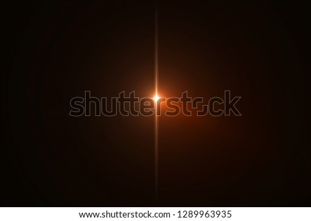 gold warm color bright lens flare flashes leak for transitions on black background,movie titles and overlaying #1289963935