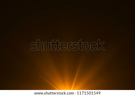 gold warm color bright lens flare rays light flashes leak movement for transitions on black background,movie titles and overlaying #1171501549