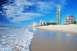 Goldcoast beach, Queensland, Australia