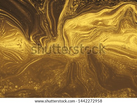 Golden abstract   background  for  design  #1442272958