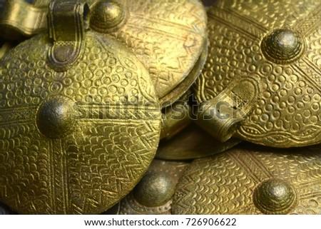 Golden amulets. #726906622