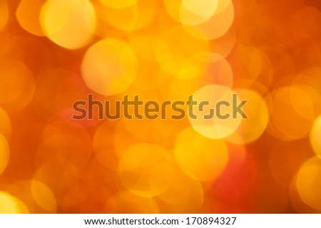 golden and red circle holiday background