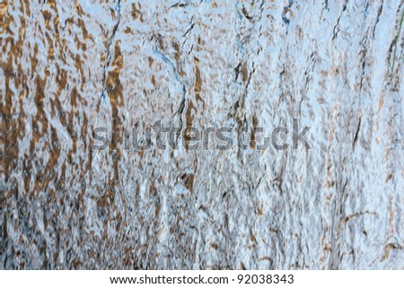 golden background water