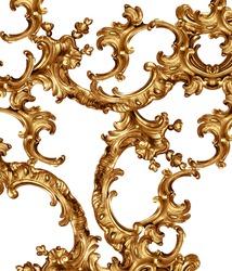golden baroque background