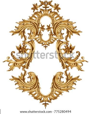 golden baroque ornament
