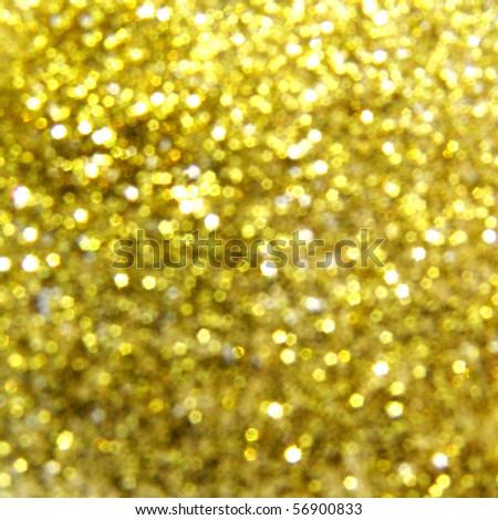 golden blurry lights