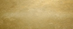 Golden brass textured horizontal background