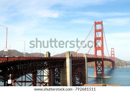 golden bridge of san francisco  #792681511