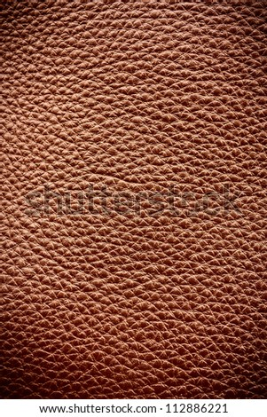 Golden brown background leather texture
