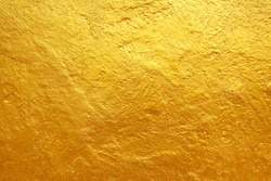 golden cement texture background