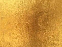 Golden cement wall background for texture design