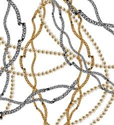 golden chain backgound