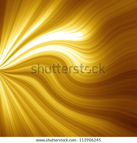 Golden christmas or festive background with soft highlights and  shades