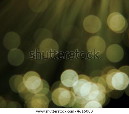 golden circular reflections