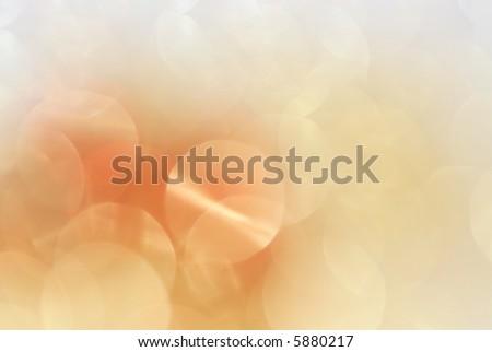 Golden design background in warm tones