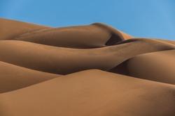 Golden dunes of the UAE
