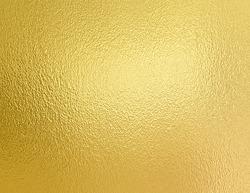 Golden foil decorative texture. Gold background for artwork