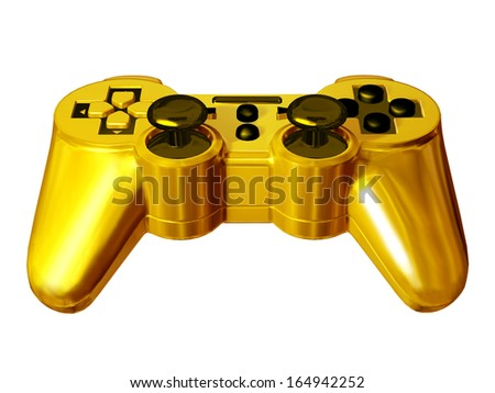 golden gamepad