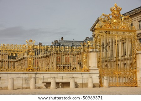 Golden Gates of Versailles Golden Gate at Versailles