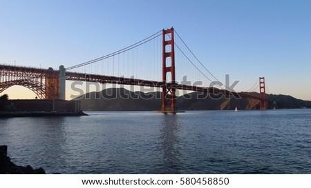 Golden Gate bridge #580458850
