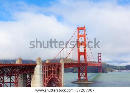 Golden Gate Bridge in San Francisco, California. #57289987