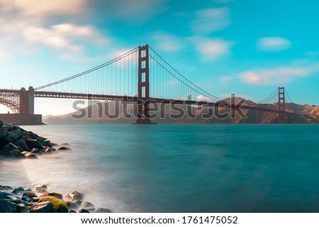 golden gate bridge of san fransico Сток-фото ©