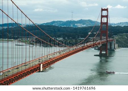 Golden Gate Bridge San francisco #1419761696
