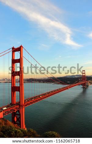 Golden Gate Bridge - San Francisco - America #1162065718