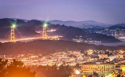 Golden Gate Bridge - San Francisco by Night