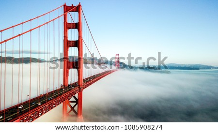 Golden Gate Bridge, San Francisco CA USA - Shutterstock ID 1085908274