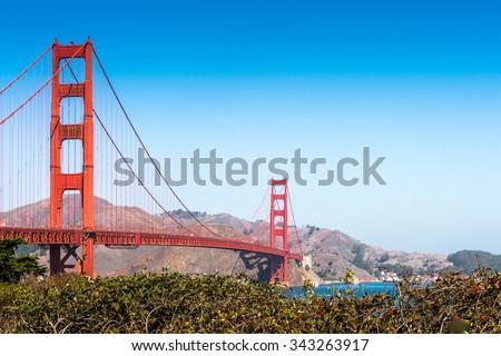 Golden Gate Bridge, San Francisco, California, United States of America #343263917